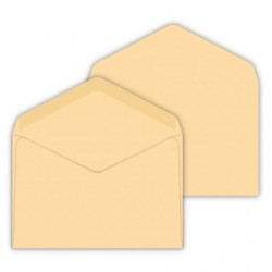 50/Buste DIN C6/grigio chiaro 114/X 162/mm 120/G//M/² incollaggio Lettera di buste senza finestra per inviti /& Novit/à del suo gluexx Agent